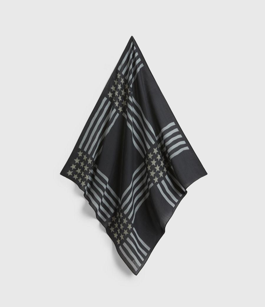 Men's Union Bandana (black) - Image 2