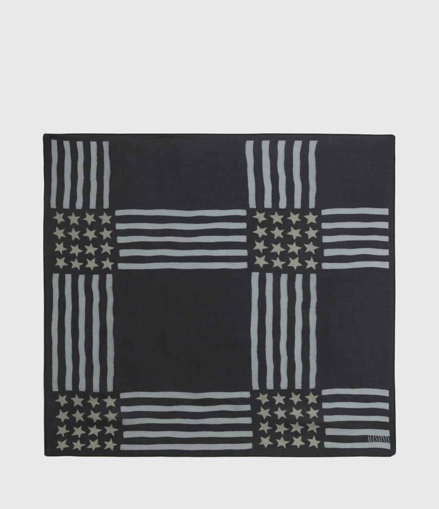 Men's Union Bandana (black) - Image 6