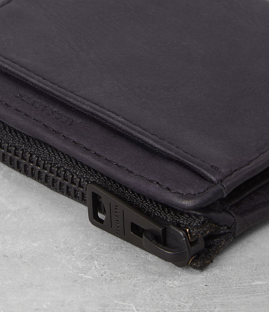 Hombre Cleat Leather Wallet (washed_ink) - Image 2