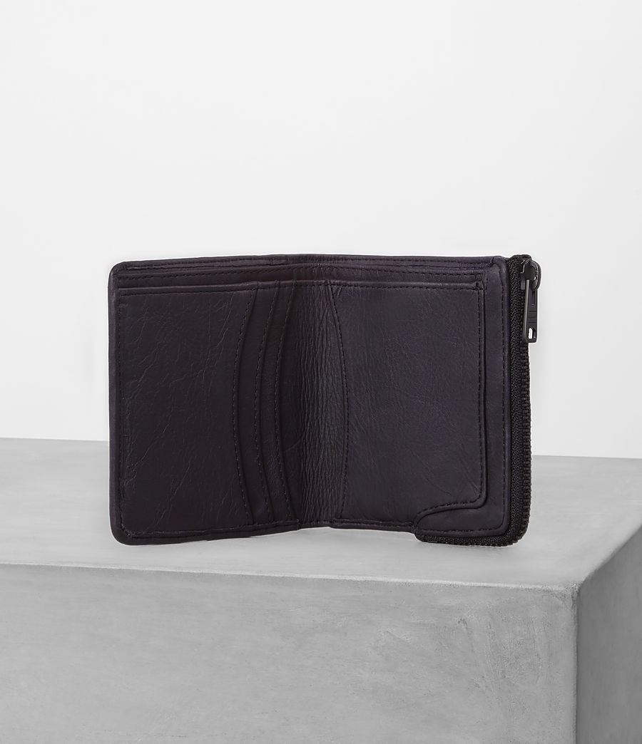 Hombre Cleat Leather Wallet (washed_ink) - Image 3