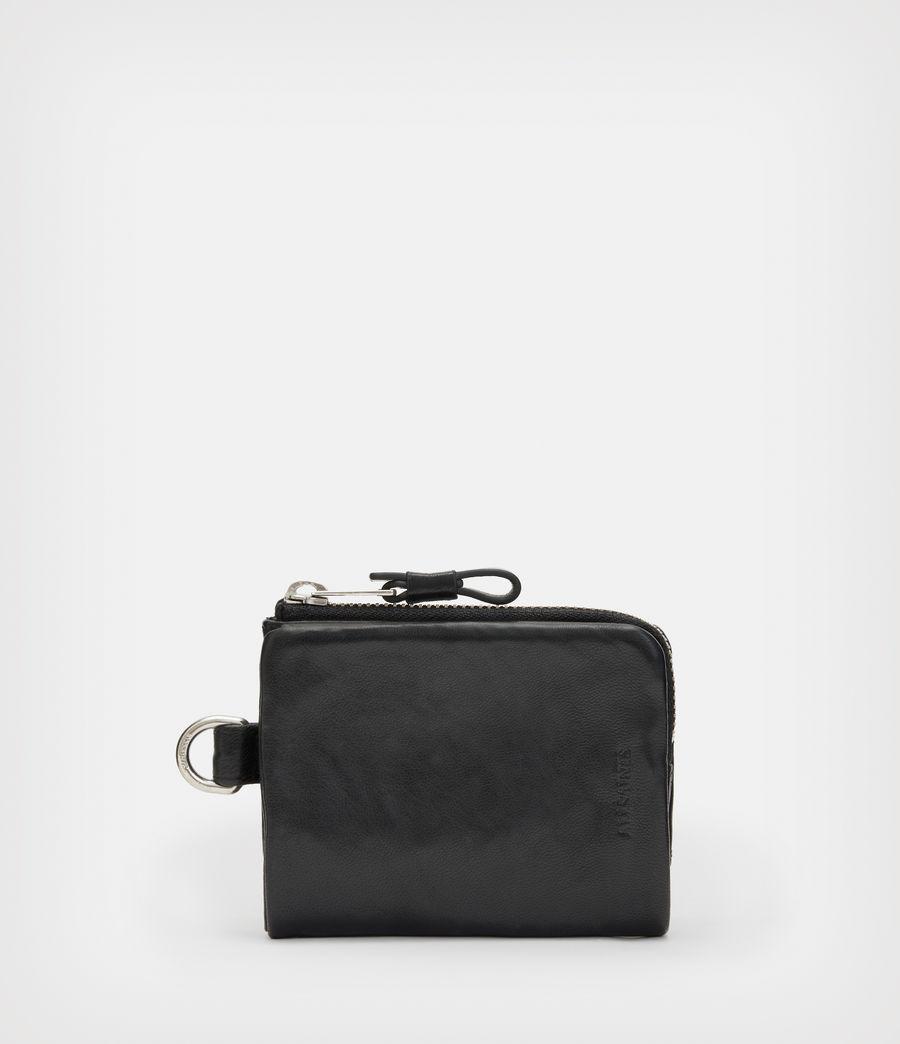 Men's Junction Leather Wallet (black) - Image 1