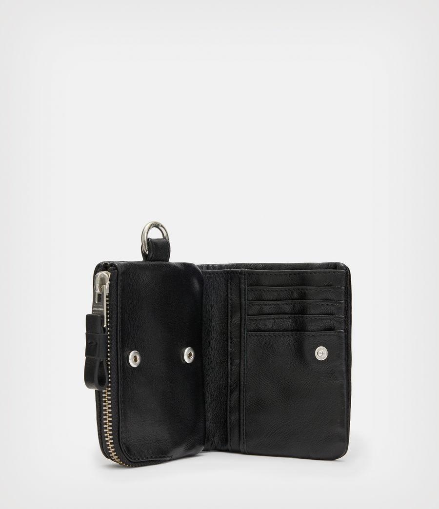 Men's Junction Leather Wallet (black) - Image 2