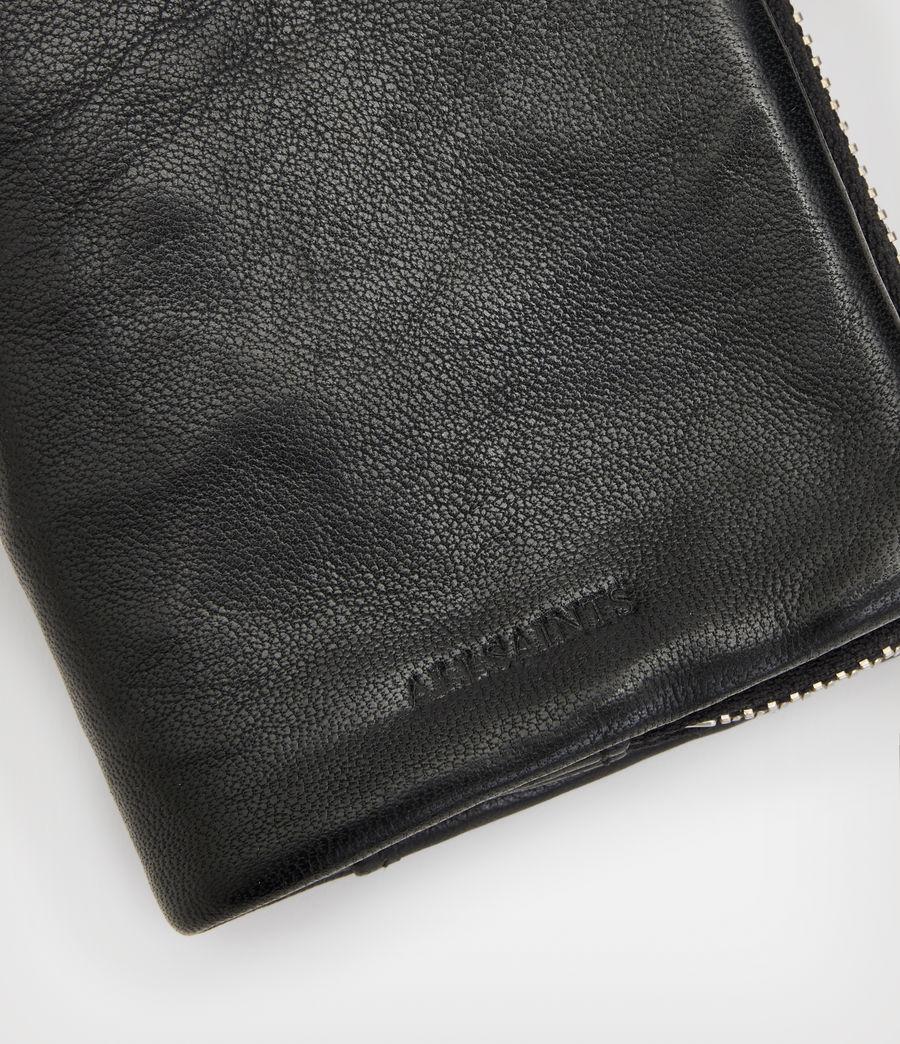 Men's Junction Leather Wallet (black) - Image 4