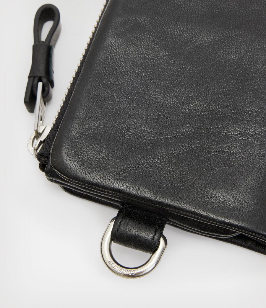 Men's Junction Leather Wallet (black) - Image 5