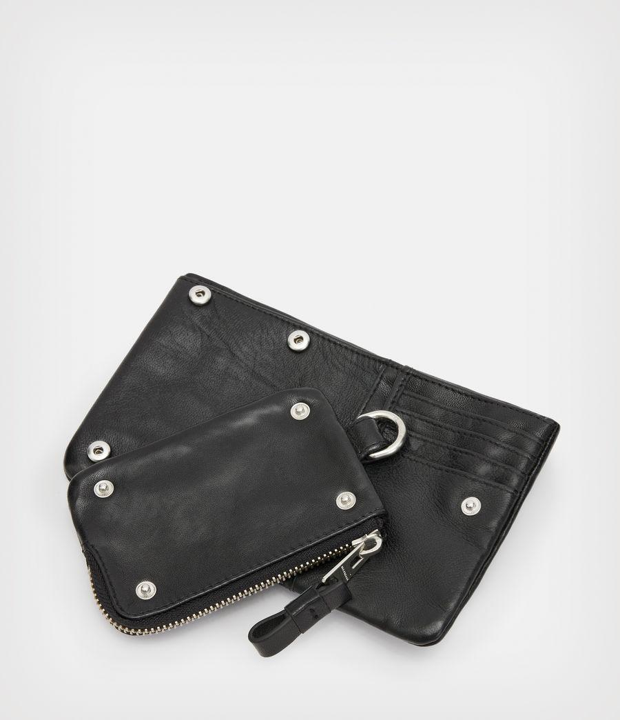 Men's Junction Leather Wallet (black) - Image 6