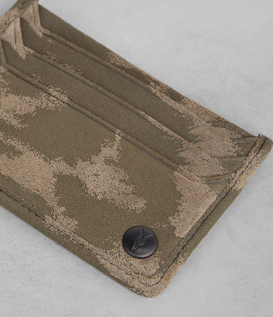 Men's Shard Cardholder (taupe_montauld) - Image 2