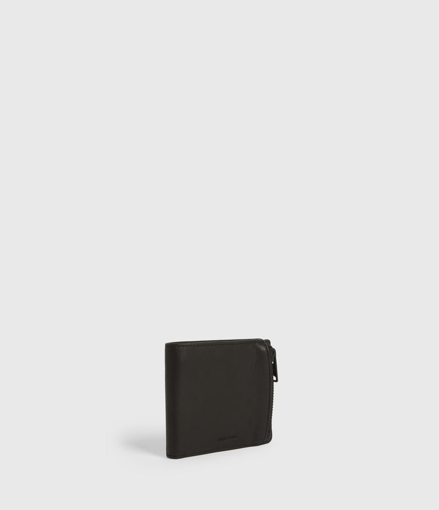 Mens Havoc Leather Wallet (black) - Image 3