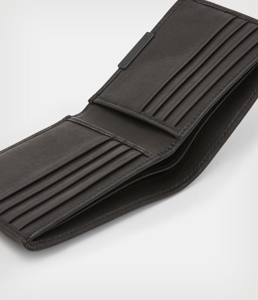 Mens Attain Leather Cardholder Wallet (dark_khaki_green) - Image 2