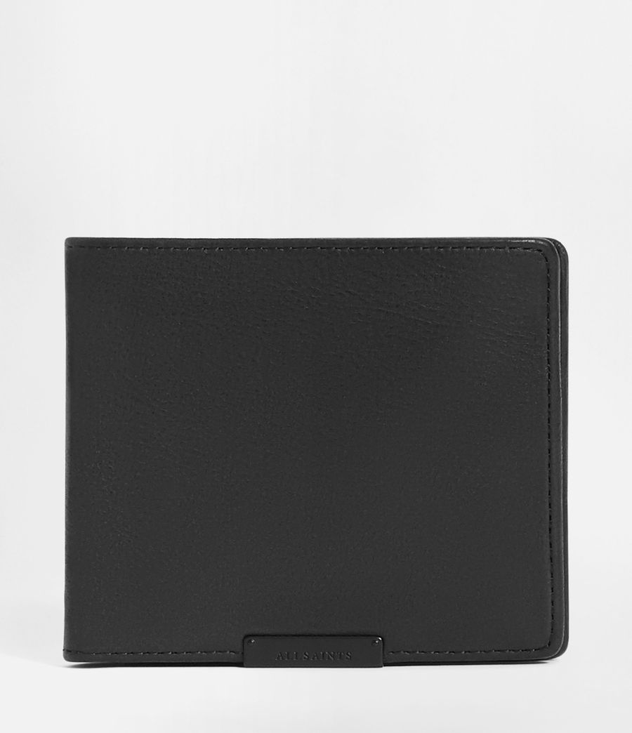 Mens Attain Leather Cardholder (washed_black) - Image 1