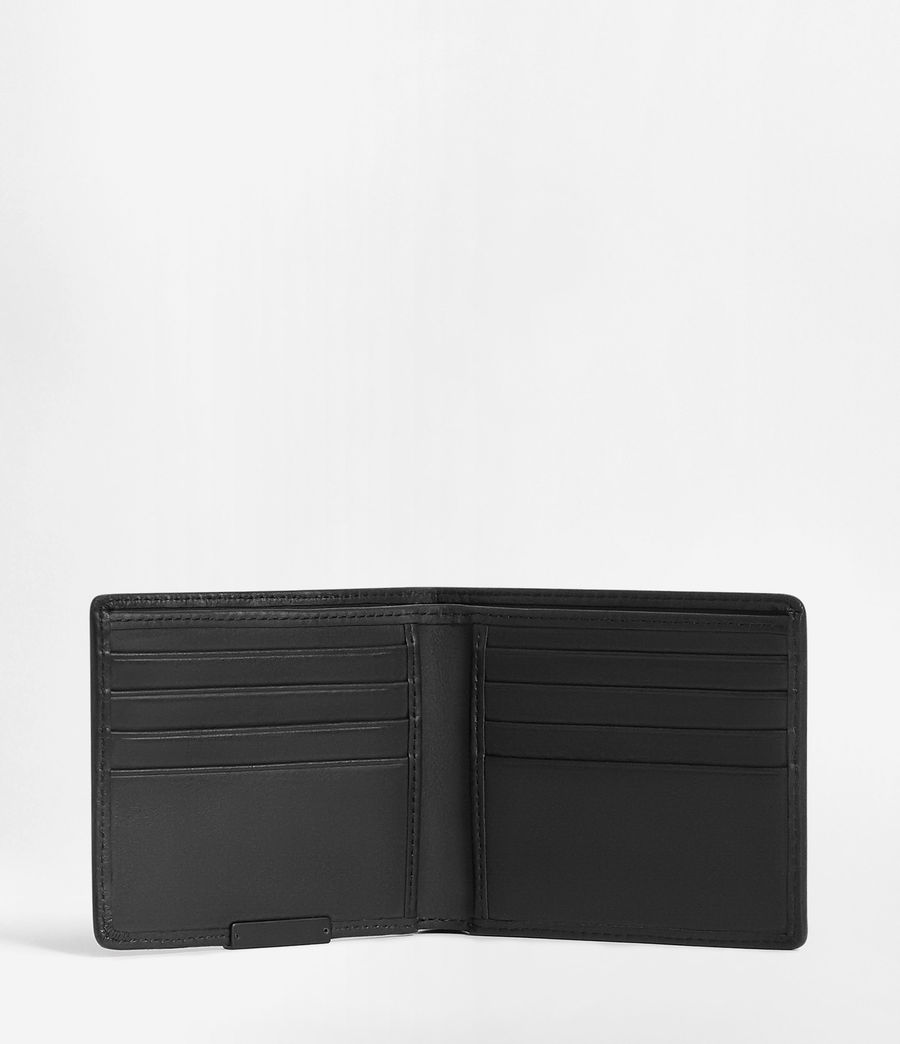 Hombres Attain Leather Cardholder (washed_black) - Image 3