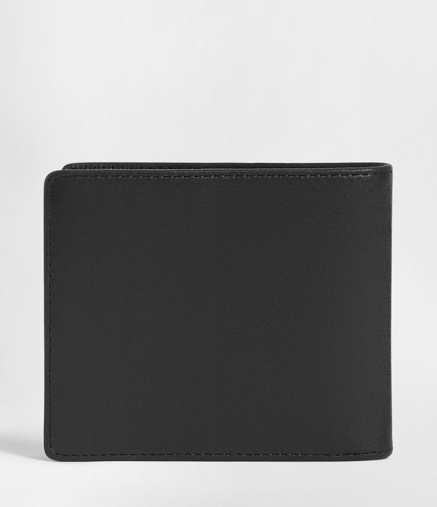 Mens Attain Leather Cardholder (washed_black) - Image 4