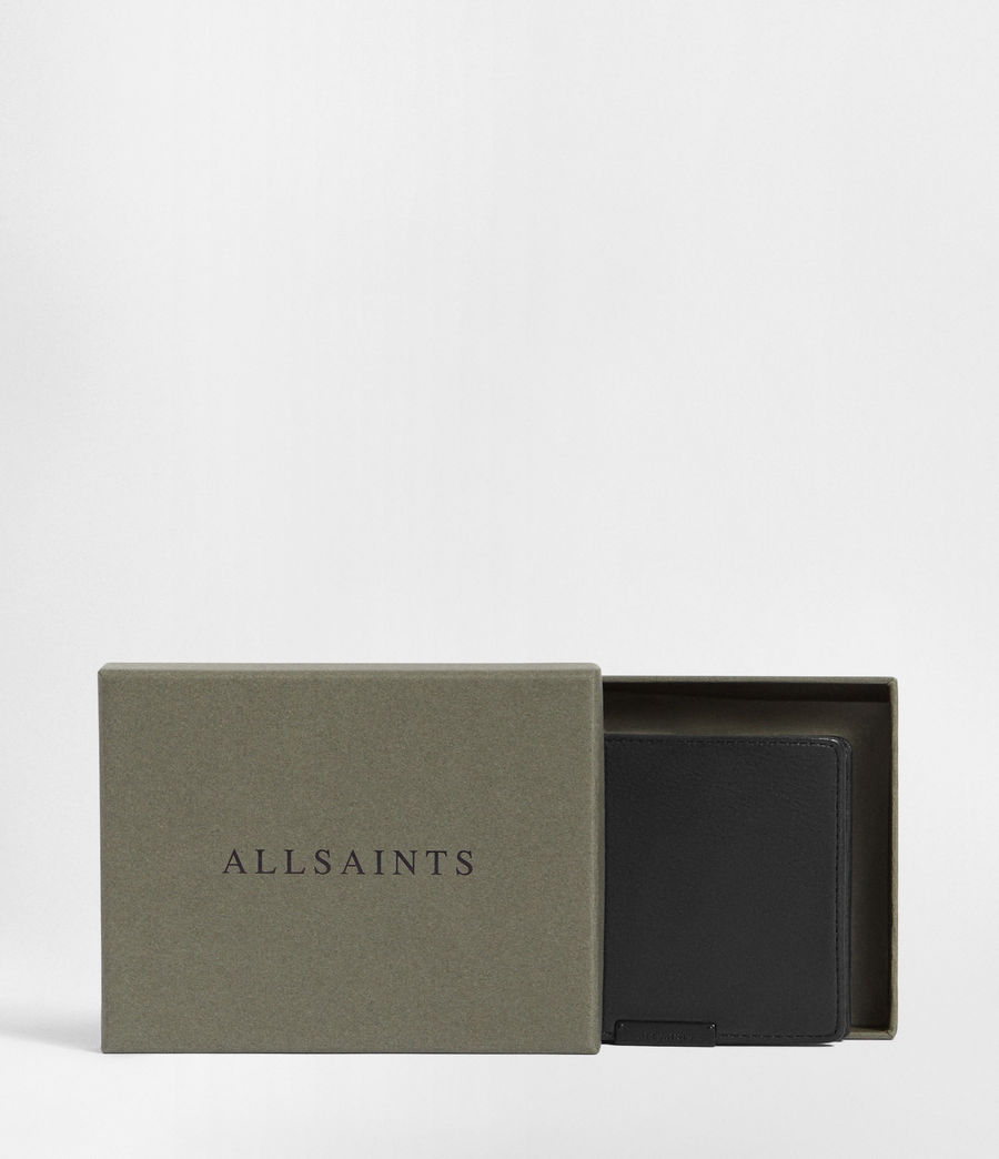 Mens Attain Leather Cardholder (washed_black) - Image 5
