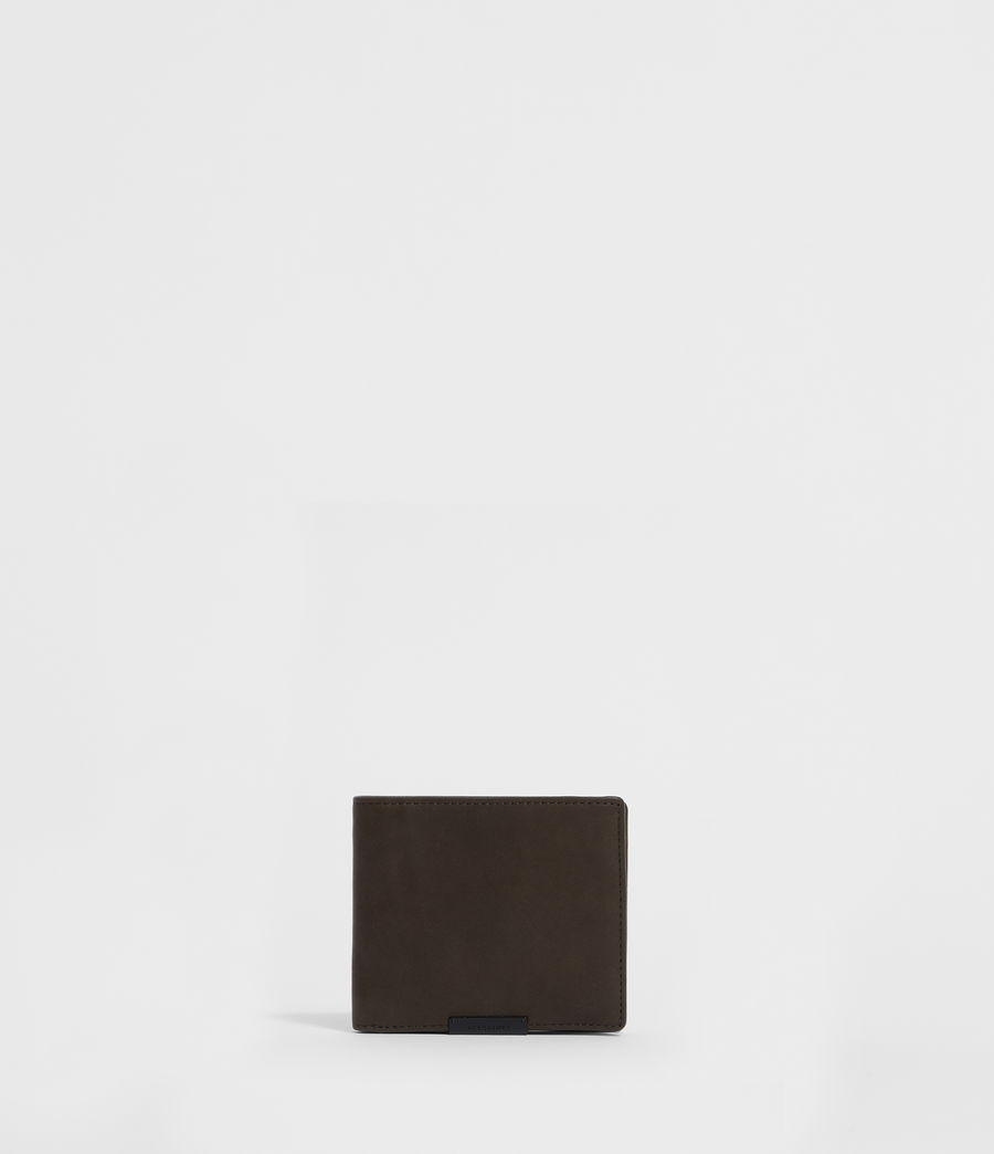 Men's Blyth Leather Wallet (dark_khaki_green) - Image 1