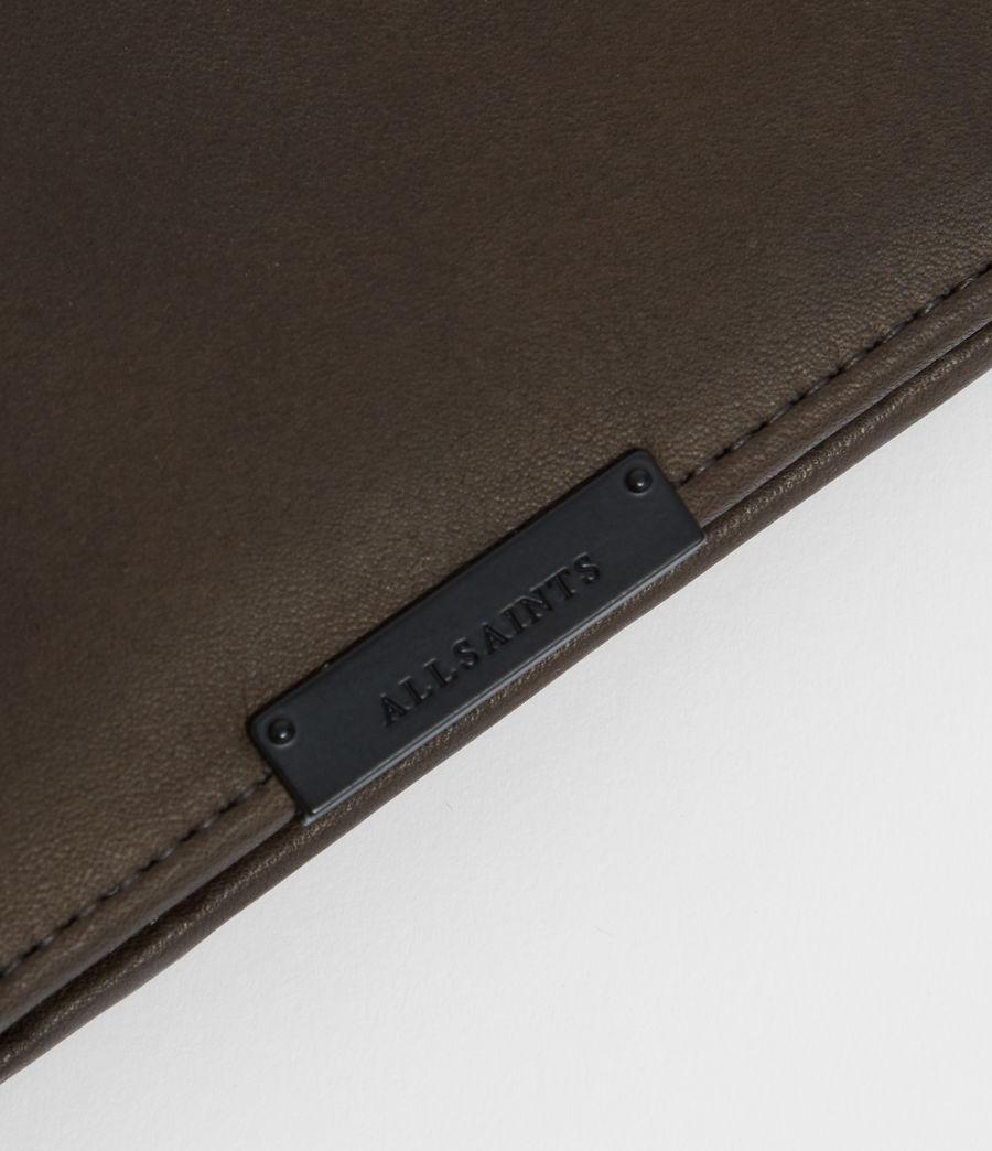 Men's Blyth Leather Wallet (dark_khaki_green) - Image 3