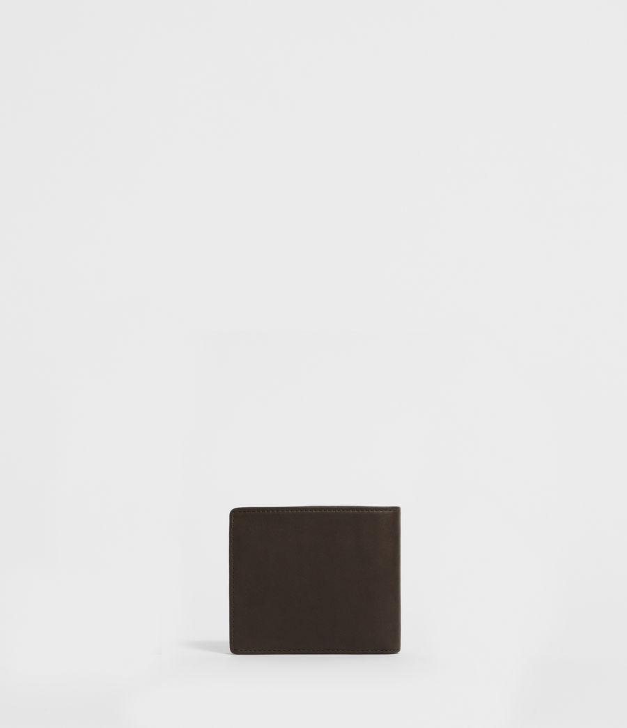 Men's Blyth Leather Wallet (dark_khaki_green) - Image 4