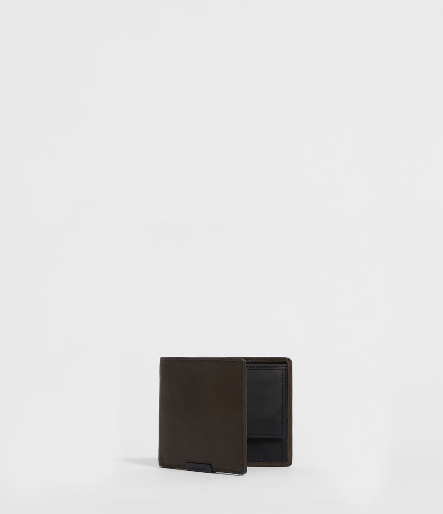 Men's Blyth Leather Wallet (dark_khaki_green) - Image 6