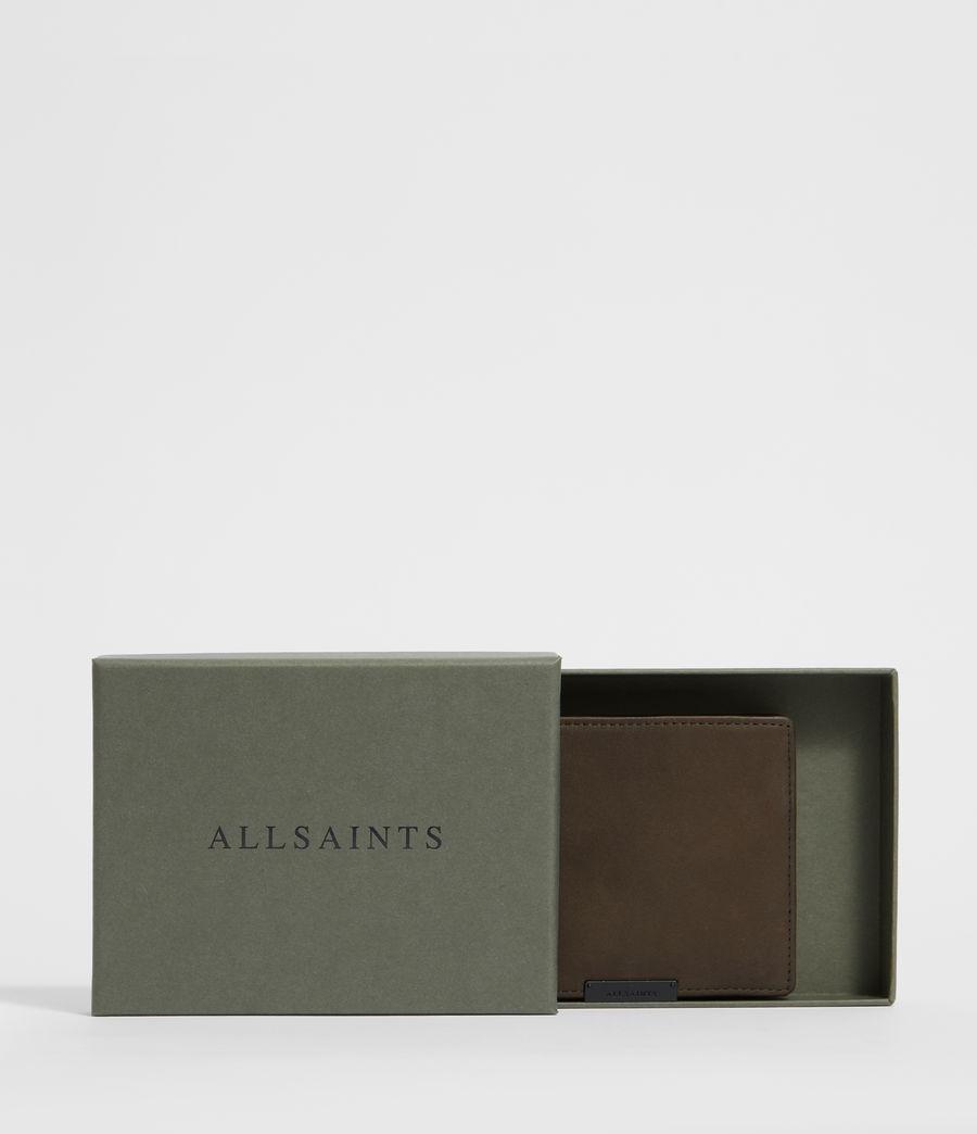 Men's Blyth Leather Wallet (dark_khaki_green) - Image 7
