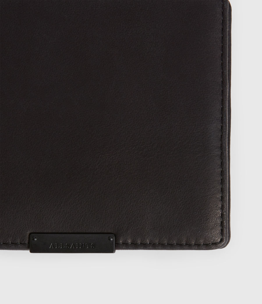 Mens Blyth Leather Wallet (dark_khaki_black) - Image 2