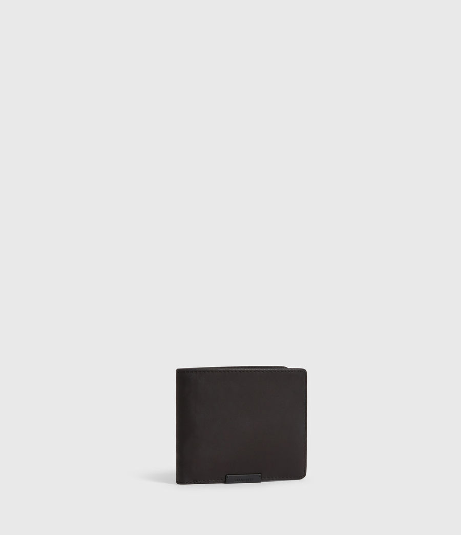 Mens Blyth Leather Wallet (black) - Image 3