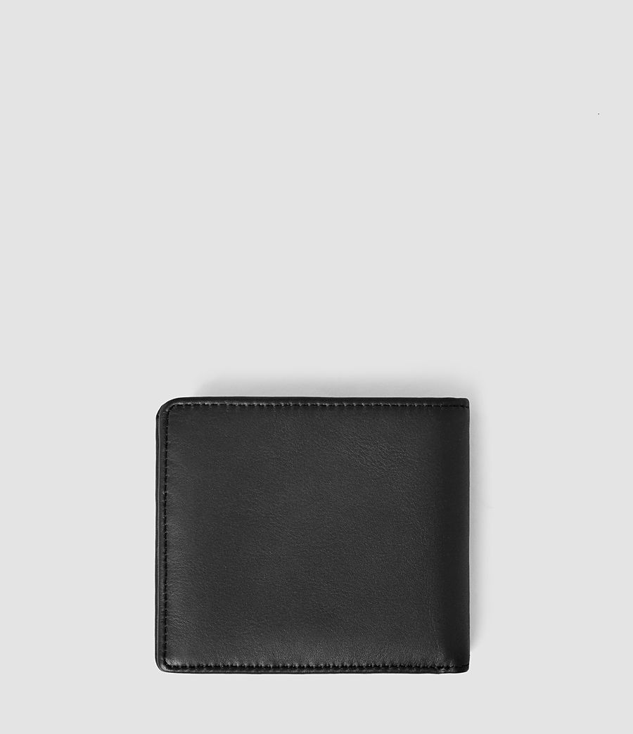 Mens Havoc Leather Wallet (washed_black) - Image 2