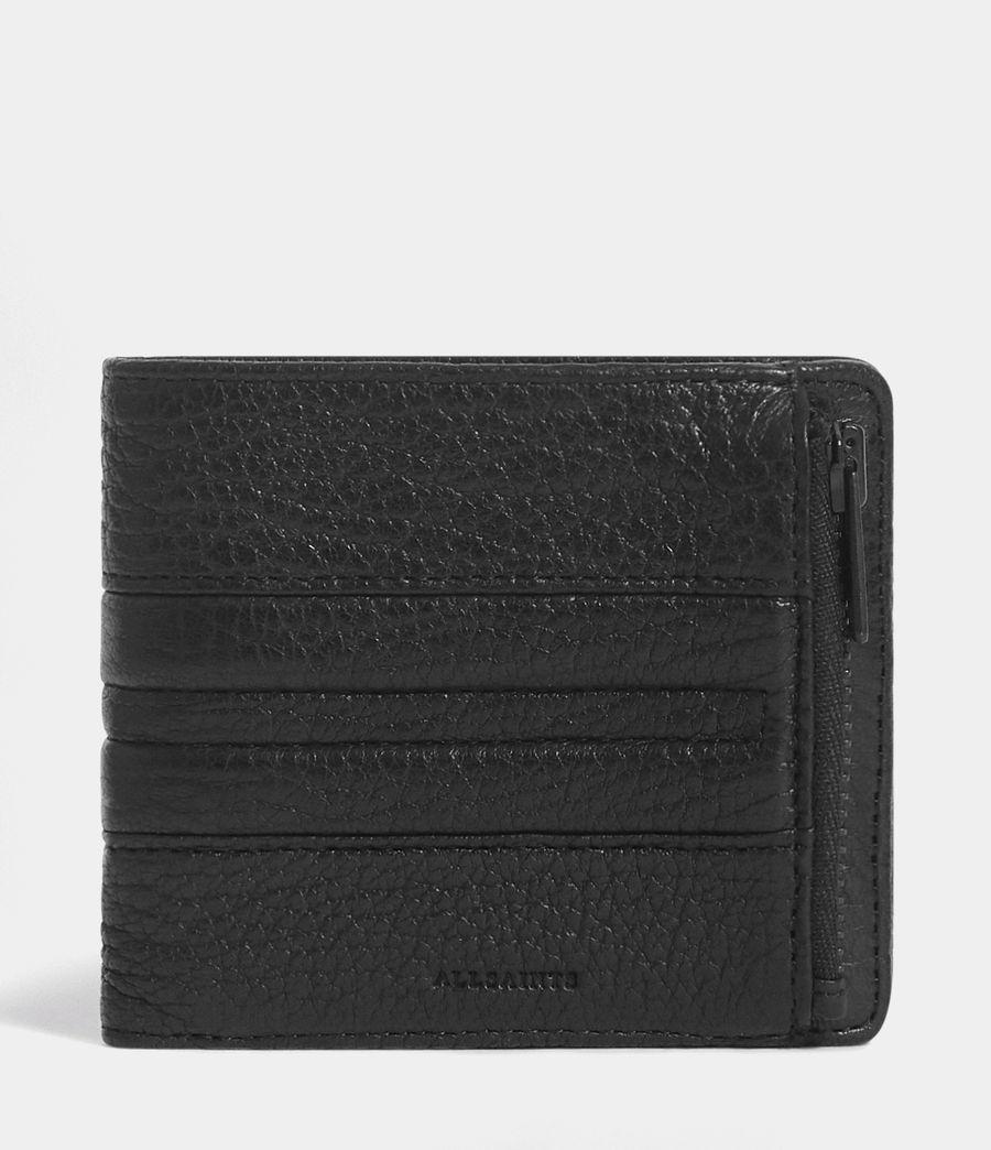 Men's Havoc Leather Biker Wallet (onyx_black) - Image 1