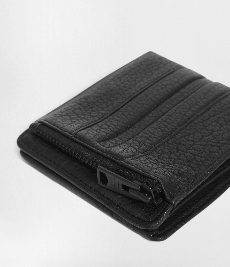 Men's Havoc Leather Biker Wallet (onyx_black) - Image 2