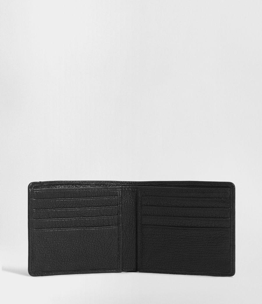 Men's Havoc Leather Biker Wallet (onyx_black) - Image 3