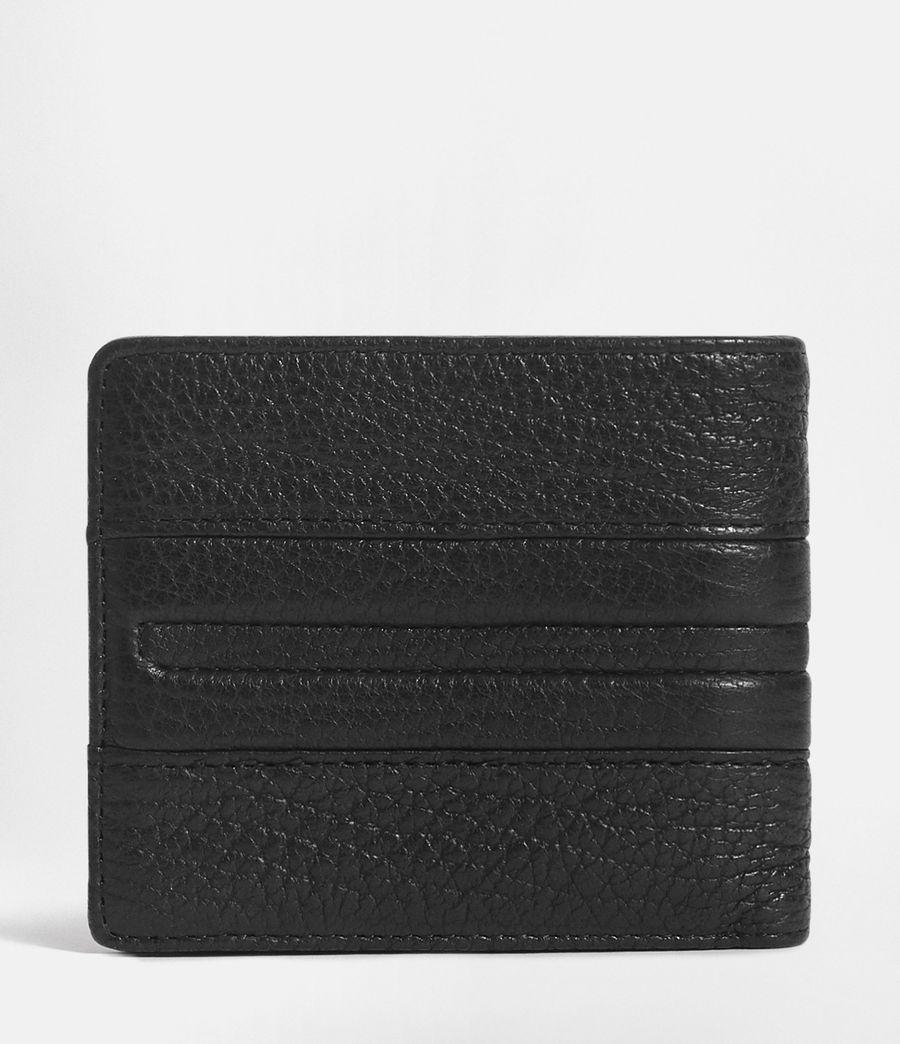 Men's Havoc Leather Biker Wallet (onyx_black) - Image 4