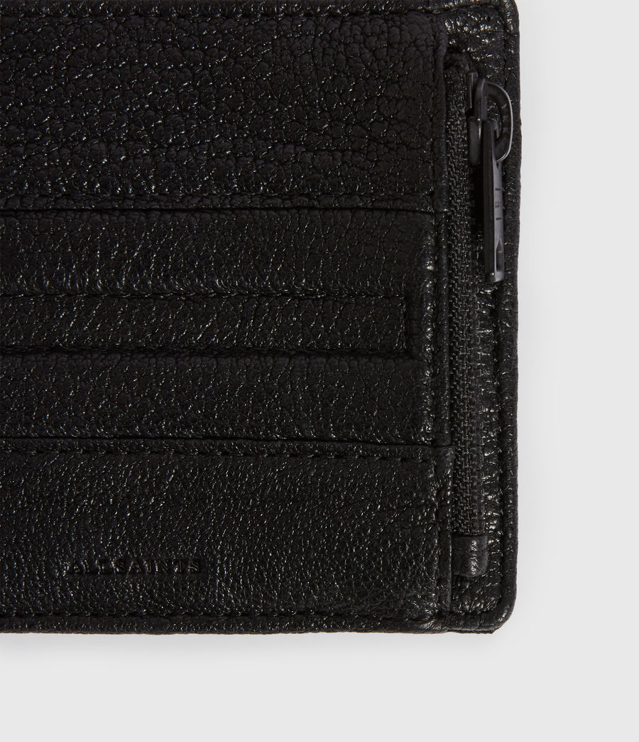 Men's Havoc Leather Biker Wallet (black) - Image 2