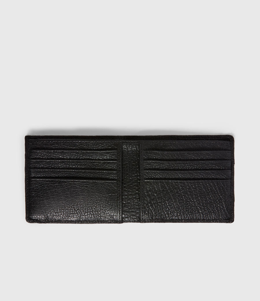 Men's Havoc Leather Biker Wallet (black) - Image 5