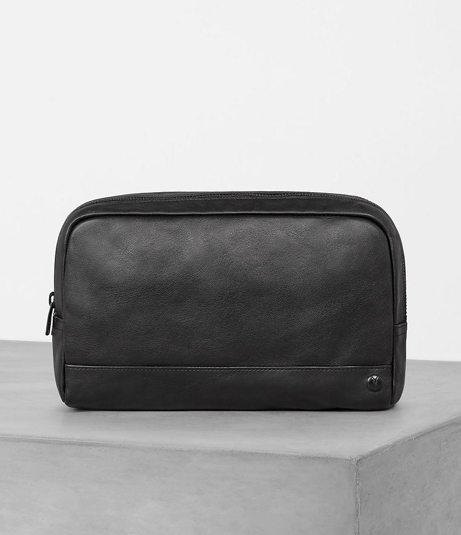 Mens Retract Wash Bag (black) - Image 1