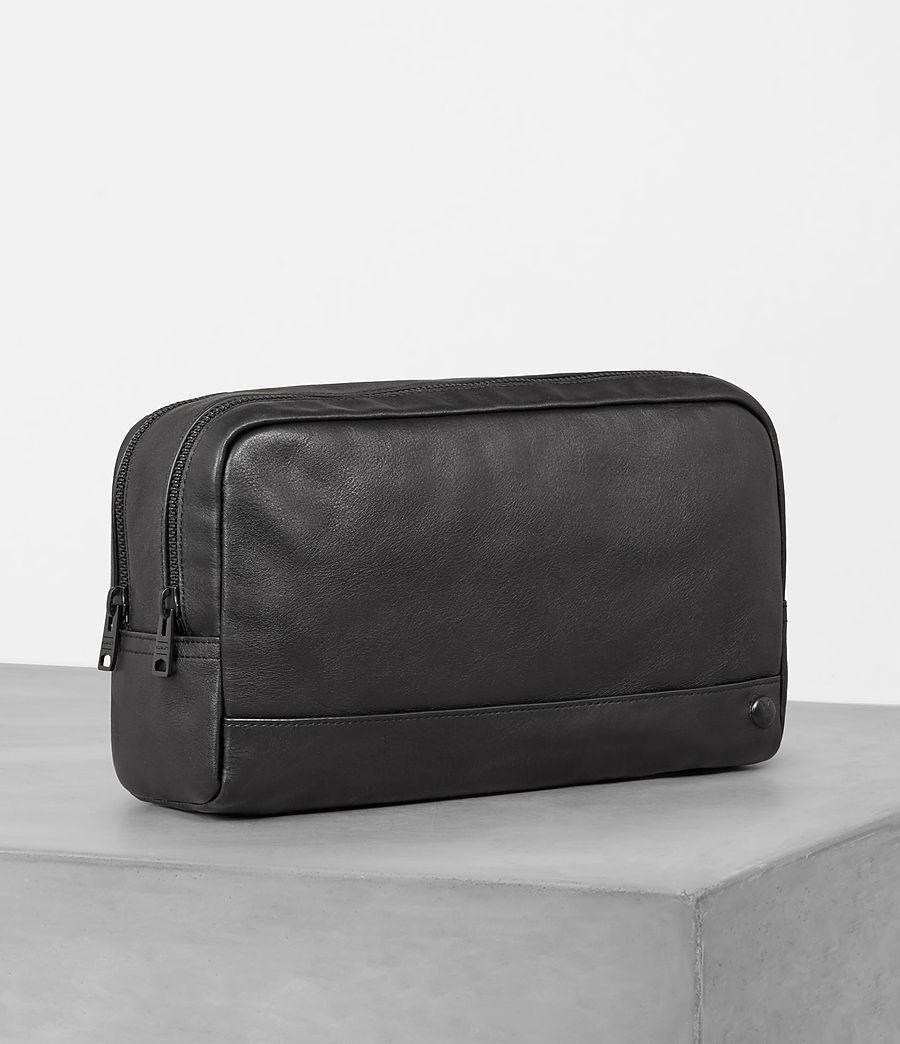 Mens Retract Wash Bag (black) - Image 3