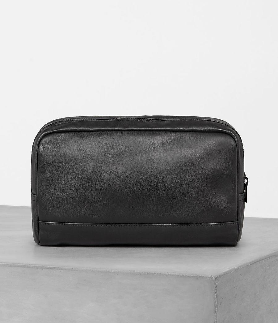 Mens Retract Wash Bag (black) - Image 4