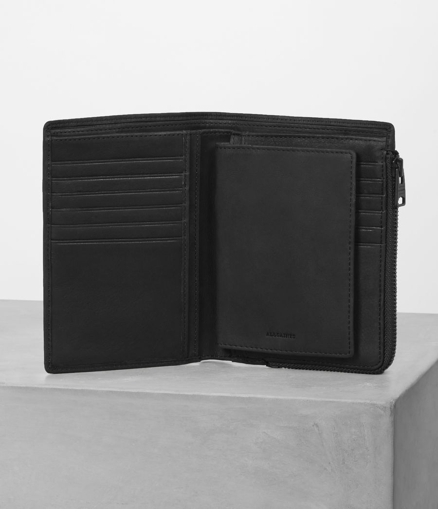 Mens Roam Travel Wallet (black) - Image 3