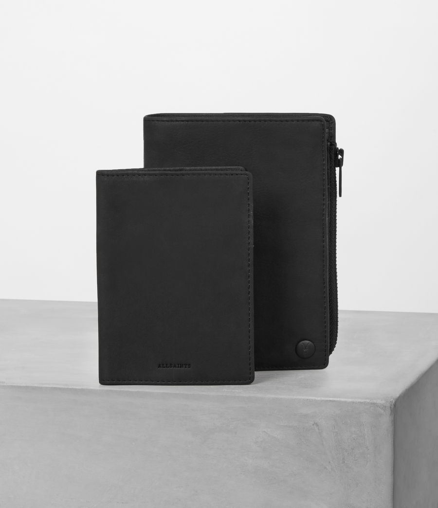Mens Roam Travel Wallet (black) - Image 6
