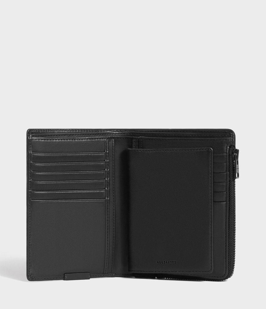 Men's Roam Leather Travel Wallet (washed_black) - Image 5