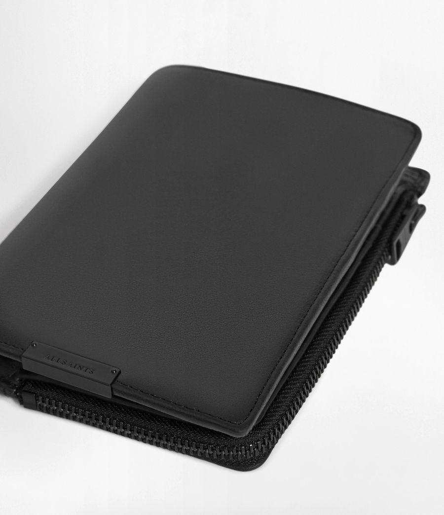 Men's Roam Leather Travel Wallet (washed_black) - Image 7
