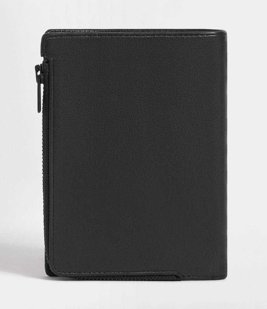 Men's Roam Leather Travel Wallet (washed_black) - Image 8
