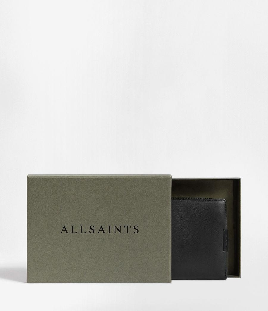 Men's Roam Leather Travel Wallet (washed_black) - Image 9