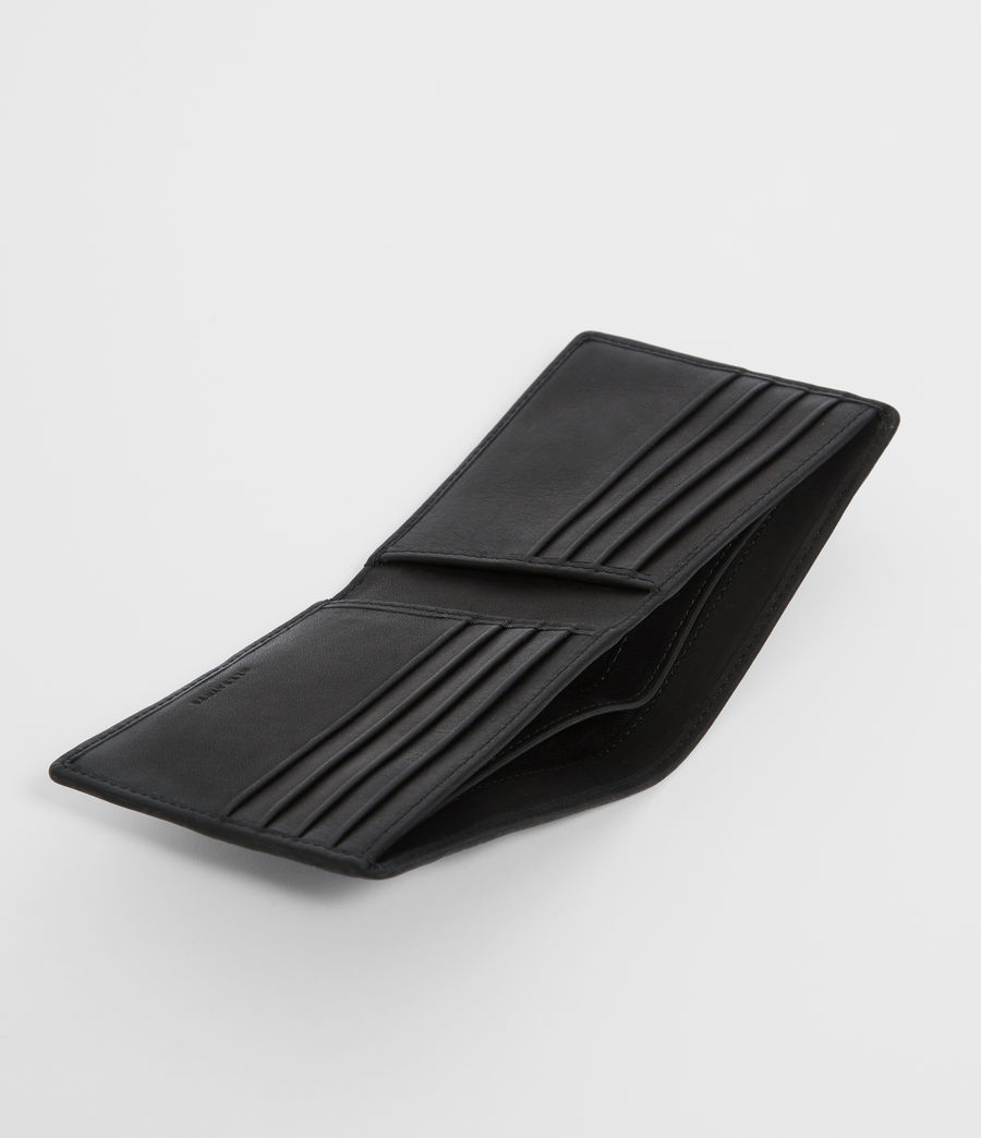 Mens Vice Leather Wallet (black) - Image 2