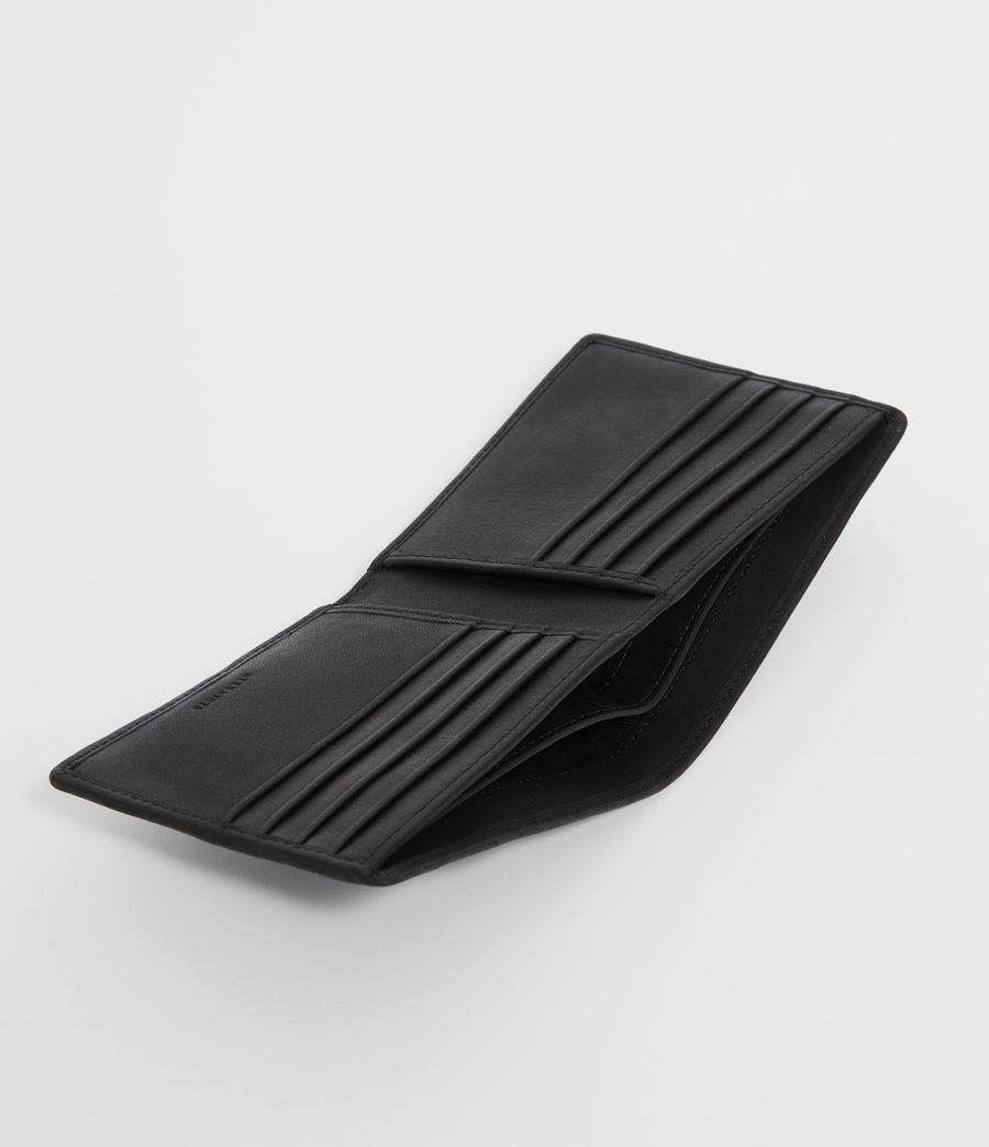 Uomo Portafoglio Vice - In pelle con fascetta elastica (black) - Image 2