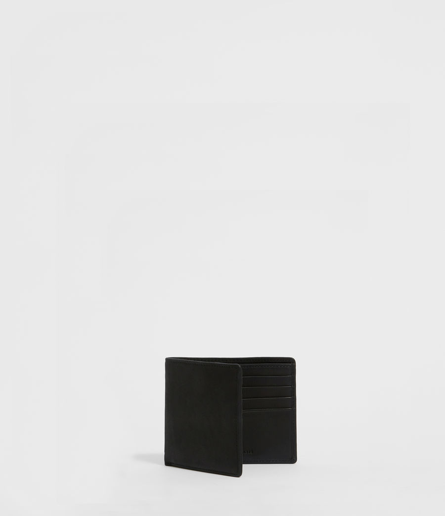 Uomo Portafoglio Vice - In pelle con fascetta elastica (black) - Image 3