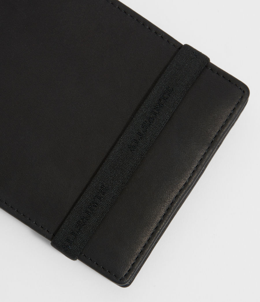 Mens Vice Leather Wallet (black) - Image 4