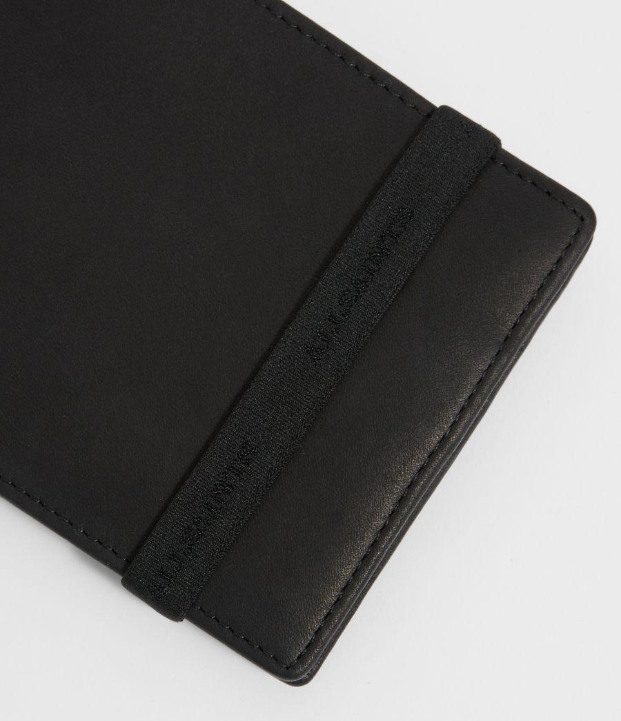 Uomo Portafoglio Vice - In pelle con fascetta elastica (black) - Image 4