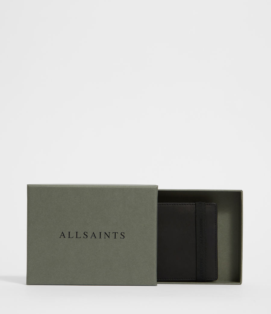 Men's Vice Leather Wallet (black) - Image 7