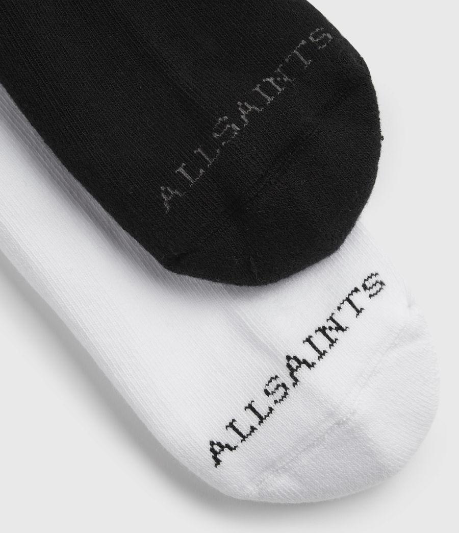 Hommes Stripe Sport Sock 2 Pack (black) - Image 3