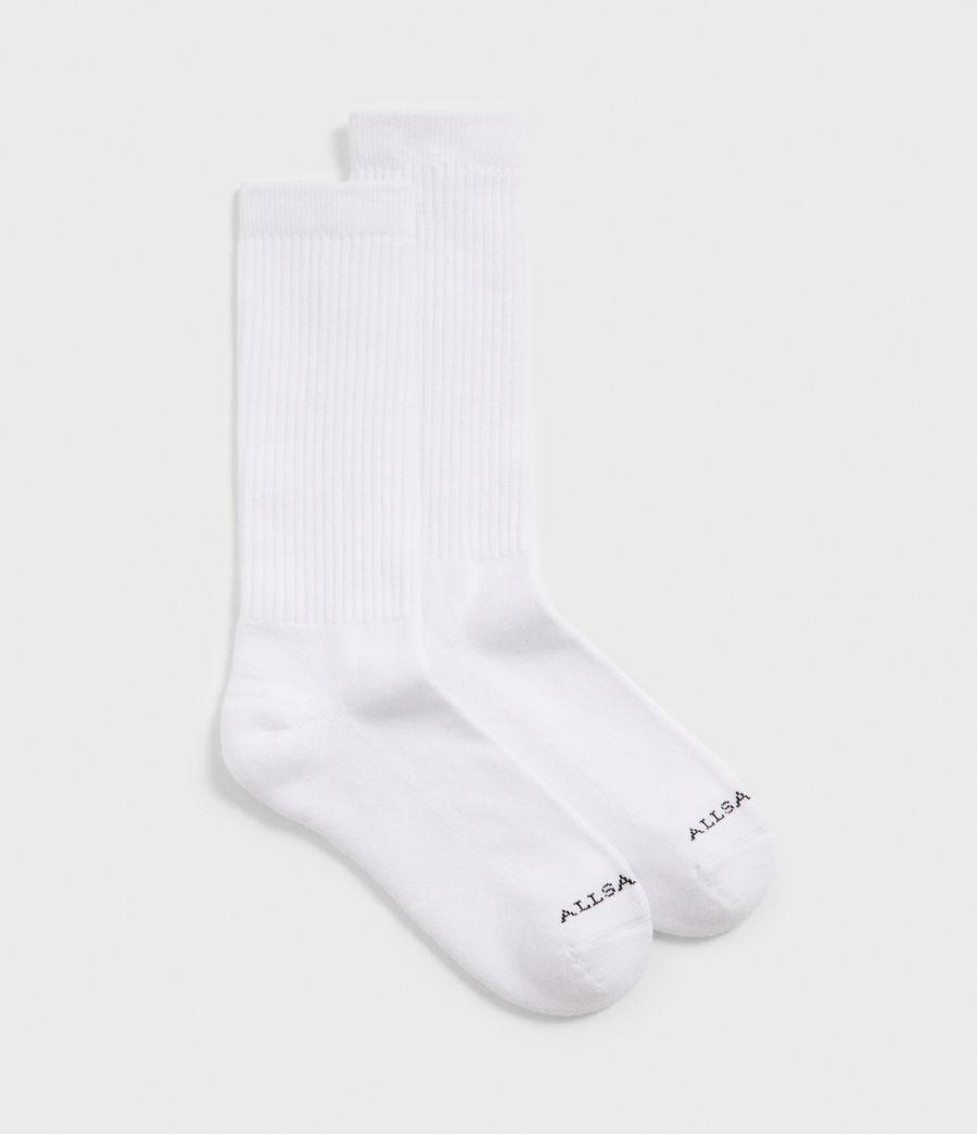 Hombres Pack de 2 Calcetines Sport (white) - Image 1