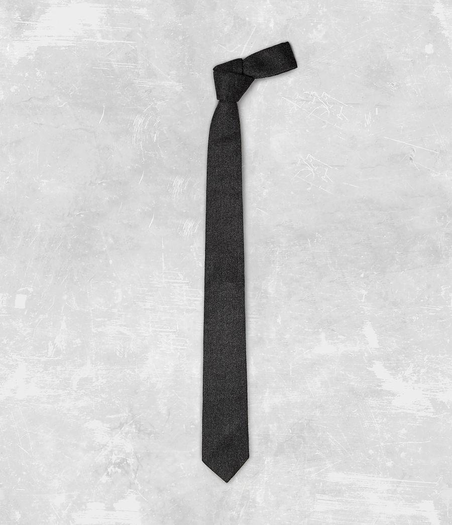 Mens Dayton Tie (charcoal) - Image 1