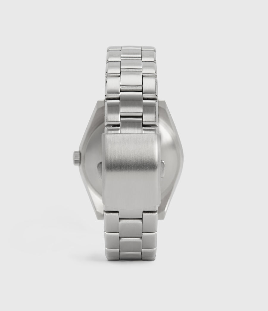 Mens Untitled V Stainless Steel Watch (silver) - Image 4