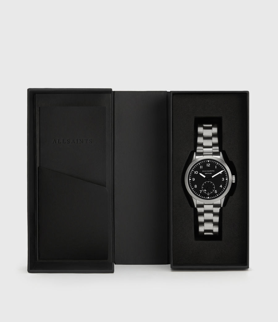 Men's Untitled V Stainless Steel Watch (silver) - Image 4